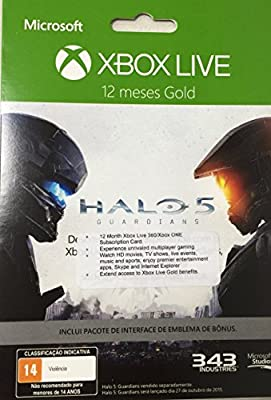 Microsoft Xbox LIVE 12 Month Gold Membership for Xbox 360 / XBOX ONE (Worldwide Edition)