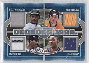 Rickey Henderson, Mario Lemieux, Dave Winfield, Isiah Thomas New York Yankees,... by Sportkings Series E