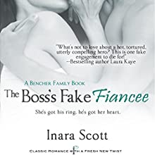 The Boss's Fake Fiancee (       UNABRIDGED) by Inara Scott Narrated by Crystal Sershen