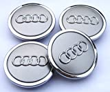 AUDI ALLOY WHEEL CENTRE CAPS 68MM