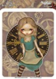 Jasmine Becket-Griffith - Steampunk Alice in Wonderland Sticker - 5