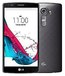 LG G4 H811 32GB Unlocked GSM 4G LTE Hexa-Core Android Smartphone w/ 16MP Camera - Metallic Black