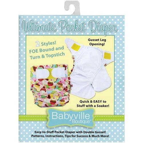 Babyville Boutique Dritz 35180 Ultimate Pocket Diaper Pattern Booklet