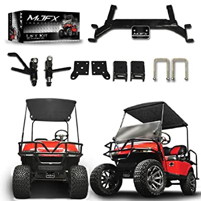 "Golf Cart Lift Kit 5"" Drop Axle will fit E-Z-Go TXT Golf Carts"