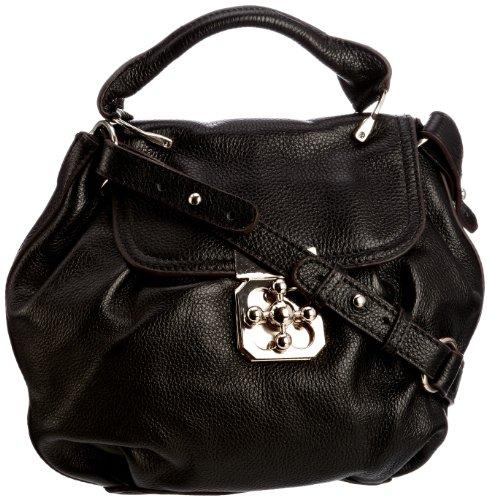 Kelly Brown Women's Ada Handbag Black 118-1