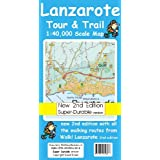 Lanzarote Tour & Trail Map 2nd Edition Super-Durable version (Tour & Trail Maps)by David Brawn