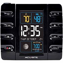 AcuRite Projection Alarm Clock by ACU-RITE