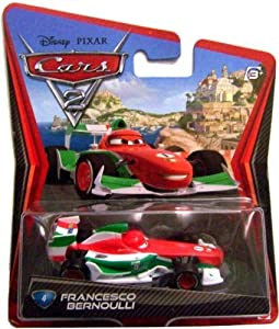 Disney Pixar Cars 2 Die-Cast Vehicle - Francesco Bernoulli