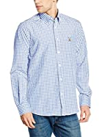 POLO CLUB Camisa Hombre Gentle Sticks Trend (Azul Celeste)