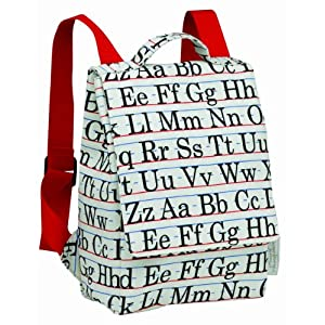 SugarBooger Alphabet Kiddie Play Back Pack