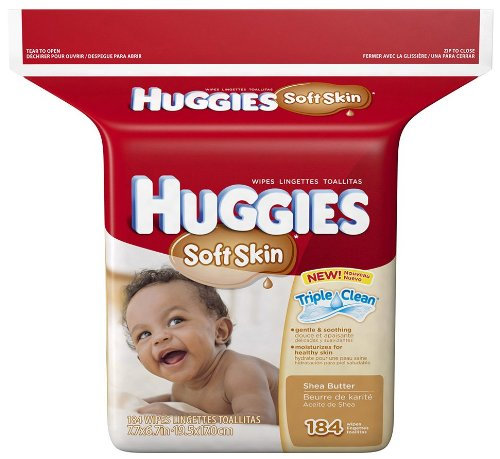 Huggies Soft Skin Baby Wipes - 184 ct., Size 184 ct - 1