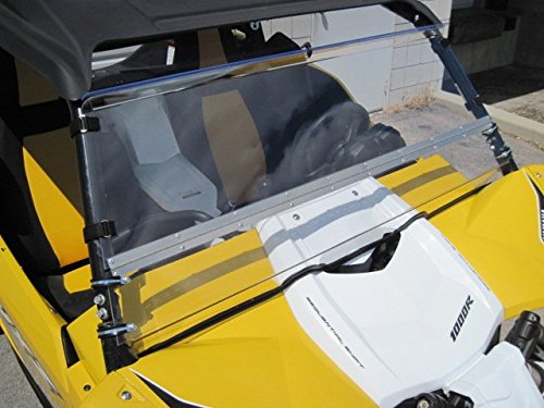 Yamaha-YXZ-Scratch-Resistant-Lexan-Full-Tilt-windshield-We-need-to-know-what-kind-of-roof-you-have-Read-ad-for-measurement-instructions-Also-check-emailJunk-mail-after-order-is-placed