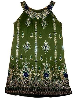 Amazon.com: FOI Indian Vintage Pattern Rayon Top Hippie