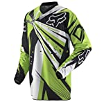 Fox Racing HC Undertow Men's OffRoad/Dirt Bike Motorcycle Black/Green