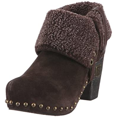 Replay Women's Shade Dark Brown Ankle Boot GWW03.002.C0001L.559 5 UK