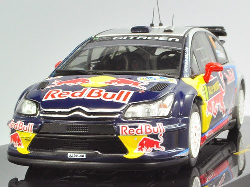 IXO 1/43 Citroen C4 WRC No8 Rally Sweden 2010 K.Raikkonen