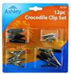 ELECTICAL - CROCODILE CLIP SET 12 PIE...
