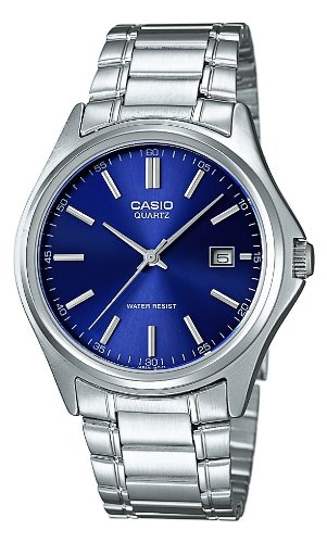 Casio  MTP-1183PA-2A - Reloj de cuarzo para hombre, con correa de acero inoxidable, color plateado