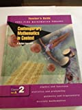 Contemporary Mathematics in Context: Teachers Guide Course 2, Part B: A Unified Approach (Core-Plus Mathematics Project)