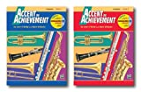 Accent On Achievment with Interactive CD for Trombone- Two Book Set - Includes Book 1 and Book 2