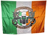 Irish Drinking Team - St Patricks Day Flag Irish Banner - 7 X 5