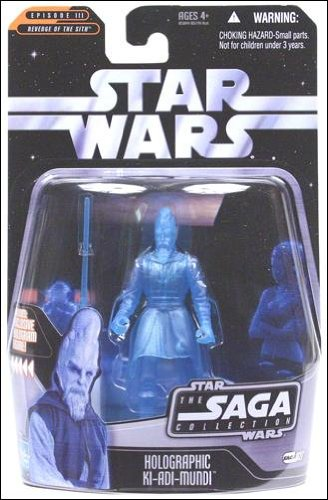 Star Wars The Saga Collection Holographic Ki-Adi-Mundi 027 - 1