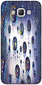 Snoogg Abstract Water Bubbles Solid Snap On - Back Cover All Around Protectio...