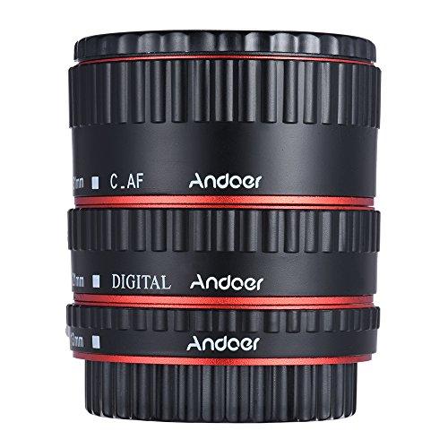 Andoer en métal avec Auto-Focus et fonction Macro TTL AP310 Bague-Sac pour appareil photo Canon EOS EF EF-S, 60D 7D 550D 5D II Option Multicolore