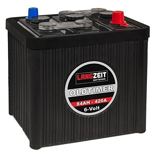 LANGZEIT-Oldtimer-Batterie-6V-84Ah-Autobatterie-Starterbatterie-6-Volt-08411