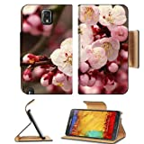Cherry Blossom Branch Close Up Japan Samsung Galaxy Note 3 N9000 Flip Case Stand Magnetic Cover Open Ports Customized... by MSD