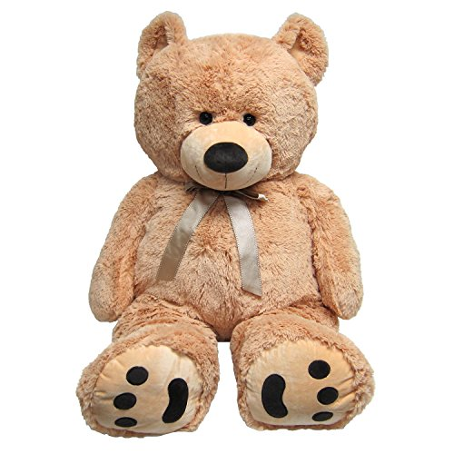 Huge Teddy Bear - Tan (Giant Teddy Bear 3 Feet compare prices)