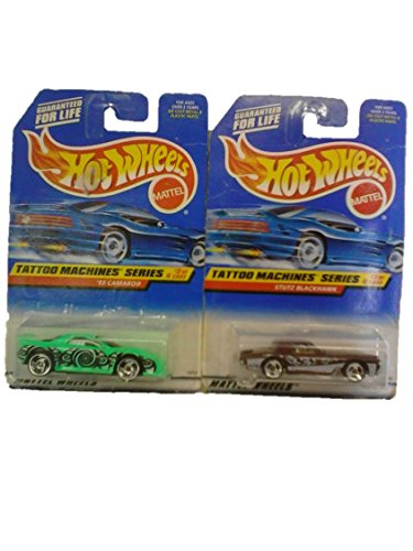 Mattel Hot Wheels 1998 Tattoo Machines Series #'s 2 & 3 (Out of 4) - 1