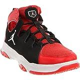 Jordan Men's Legend TR Basketball Shoes, Challenge Red/White/Black