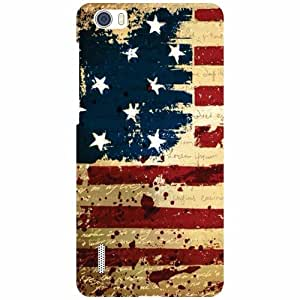 Via flowers Flag Matte Finish Matte Finish Phone Cover For Huawei Honor 6