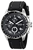 Fossil CH2573 Gents 'Decker' Black Rubber Strap Black Dial Chronograph Watch
