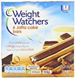 Weight Watchers Jaffa Cake Bars 126 g (Pack of 9)