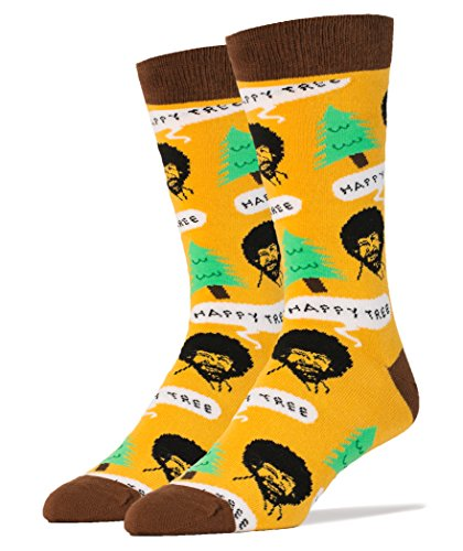 oooh-yeah-mens-luxury-combed-cotton-crew-socks-bob-ross-happy-tree