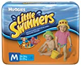 51QlV1AmRTL. SL160  Huggies Little Swimmers Disposable Swimpants (Character May Vary), Medium 18 Count