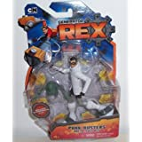 "Generator Rex Punk Busters Rex 4"" Action Figure In White Arctic Suit"