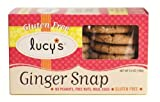 Lucy's Gluten Free Cookie Box, Ginger Snap, 5.5-Ounce (Pack of 4)