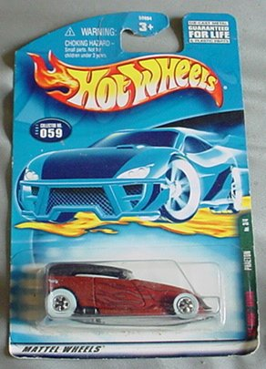 Hot Wheels 2001 Phaeton Rat Rods Series 3/4 #059 #59 1:64 Scale - 1