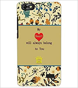 PrintDhaba Quote D-3670 Back Case Cover for HUAWEI HONOR 4C (Multi-Coloured)