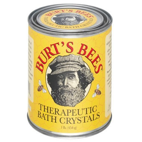 Burt's Bees Therapeutic Bath Crystals, 16 Ounce Tins