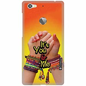 Printland Back Cover For Letv Le 1S - You & Me Designer Cases