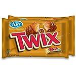 Twix Caramel Fun Size Candy, 22.34-Ou...