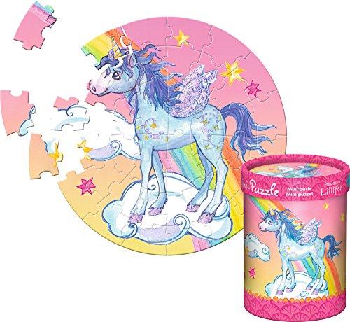 Mini-puzzle-Princesse-Lillifee-40-pices--patrir-de-4-ans-bleu-licorne