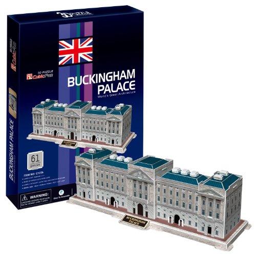 3D立体パズル バッキンガム宮殿