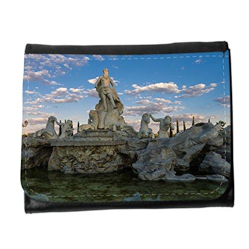 Cartera unisex // M00154233 Fontana di Trevi Fontana di Trevi Roma // Small Size Wallet