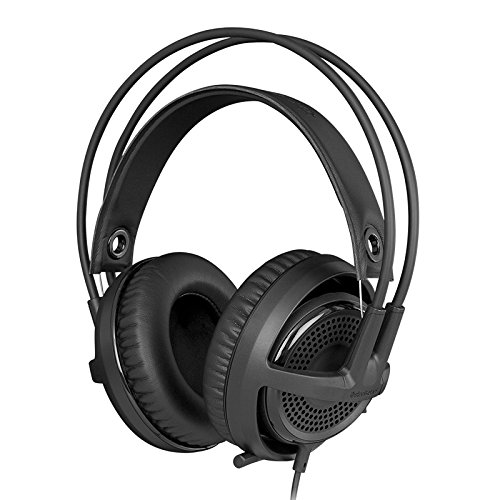 SteelSeries Siberia v3 Comfortable Gaming Headset - Black  available at amazon for Rs.8699