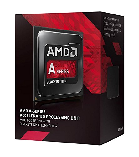 AMD A8-7650K Black Edition A-Series APU with Radeon R7 Graphics AD765KXBJASBX (Amd Quad Core Fm2+ compare prices)